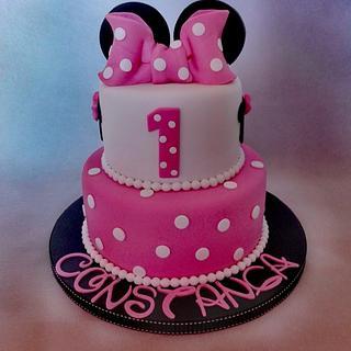 Minnie Cake - Cake by Bake My Day