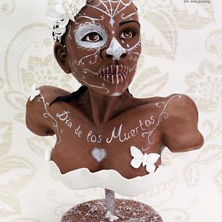 Black and White Catrina - Sugar Skulls Collaboration