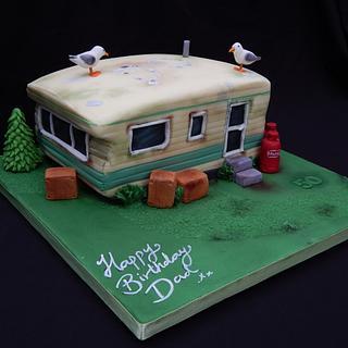 Seagull Poo Caravan!