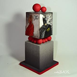Batman story - Cake by cakeBAR