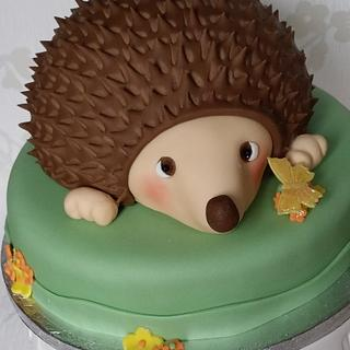 chocolate ganache hedgehog