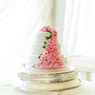 Last minute wedding cake - Cake by YummyCakesBySue