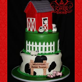barnyard - Cake by Occasional Cakes
