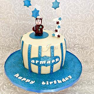 Baby Vuvu Birthday Cake