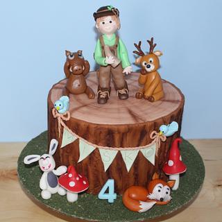 For a small hunter Miško - Cake by Adriana12