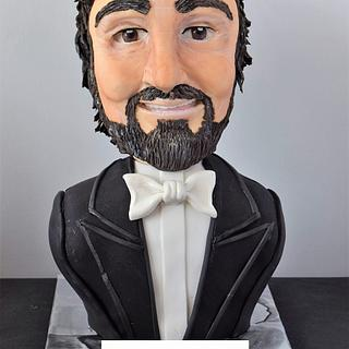 Luciano Pavarotti - Gone too soon - A Cake Collective Collaboration