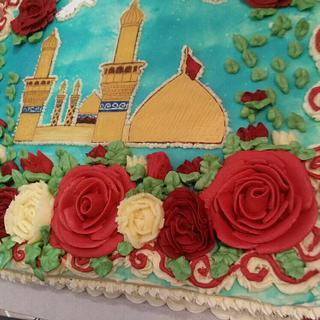 Imam hussain cake