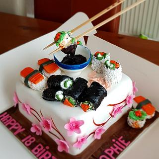 Who is for suchi - Cake by Redlouis33