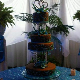 Wedding cake - Cake by Your Dreaming Cake