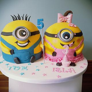 Miraculous Brother Sister Cake 10 Cakes Cakesdecor Funny Birthday Cards Online Alyptdamsfinfo