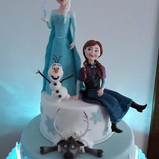 FROZEN - Cake by silviacucinelli
