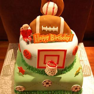 sporth theme - Cake by funni