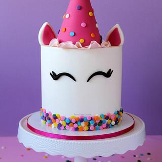 Party Unicorn Cake!