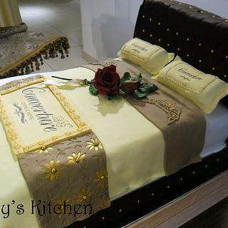 Corporate Cake for Linen Shop