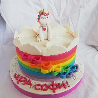 Еднорогче - Cake by Bibi