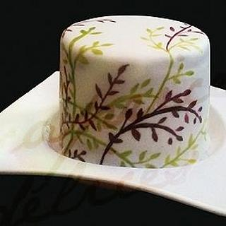 Hand Painted Cake - Cake by capricesetdelices