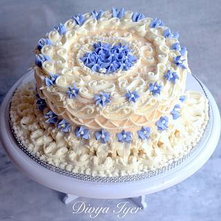 Lambeth designed  cake