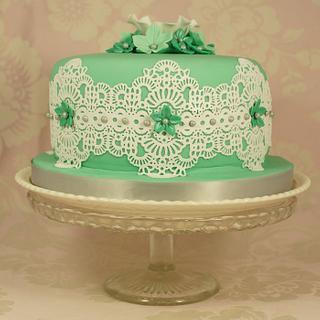 Daphne's Cake Lace Birthday Cake