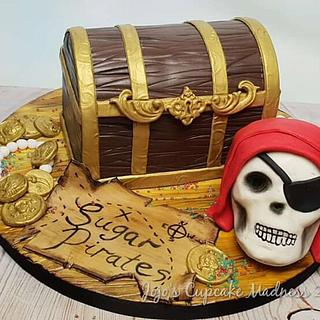 Pirate Treasure Chest - Sugar Pirates Collaboration