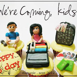 We're coming, kids! - Cake by Diana
