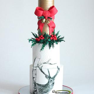 Merry Christmas!  - Cake by Ashwini Sarabhai