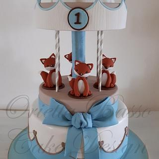 Carousel cake - Cake by Orietta Basso