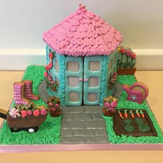 Cookie garden house (workshop Roos Bakt)