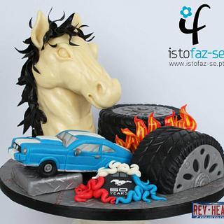 Mustang 50 years - REV HEADS Michael Almeida