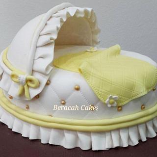 Bassinet Cake - Cake by Valory