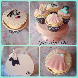 Girls Night Out - Cake by Suzie Bear Cakes