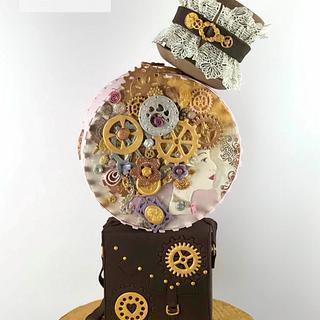 Mirabella Steampunk cake