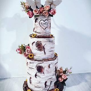 🍁Wedding cake Automne🍁