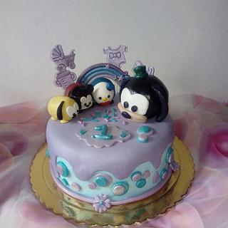 Tsum Tsum themed cake