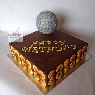 Groovy 70's Cake