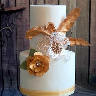 Headdress cake