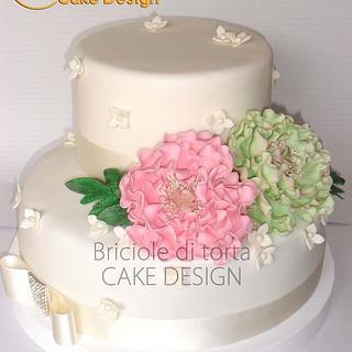 wedding in white - Cake by BRICIOLE DI TORTA di MARIA SILVIA CHECCACCI