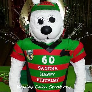 South Sydney Rabbitohs Cake