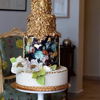 Mixed media cake - Cake by Art Sucré by Mounia