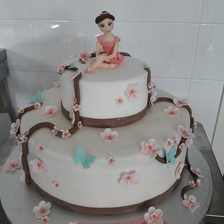 Ballet cake - Cake by silviacucinelli
