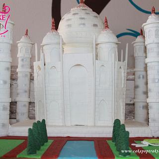 Taj Mahal Cake 3D