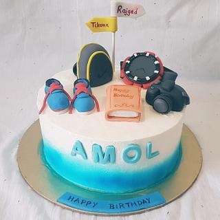 Trek theme cake