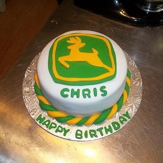 John Deere Birthday - Cake by Tara MacLean