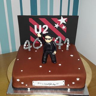 U2 cake
