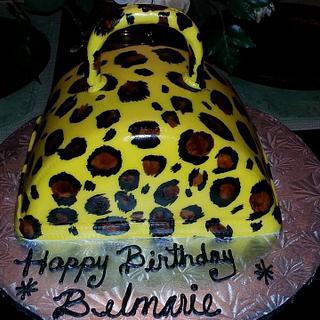 Mi Primer Cake Pintado A Mano