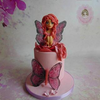 Pink fairy for Yasmine