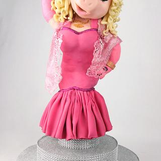 Miss Piggy - Cake Con International 2018  Collaboration - Cake by Emily Calvo