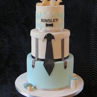 Baby boss cake