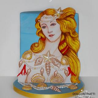Venus by Botticelli for Sugar Art Museum Collaboration