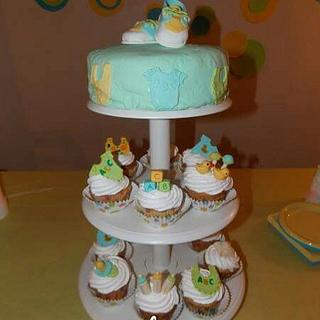Baby Items  - Cake by Elisos