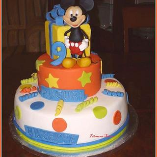 Michey Mouse Cake